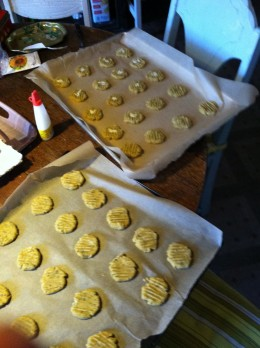 Gluten Free! Almond Shortbread Cookies, Holiday goodies with out the discomfort!