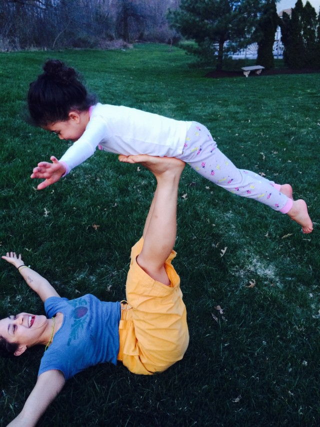 Enjoy Yoga with your child!