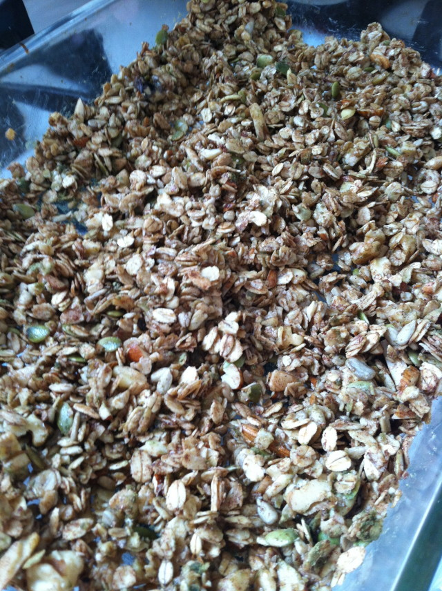 Honey Nutty Granola