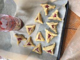 Raspberry Hamantaschen Gluten Free Dairy Free